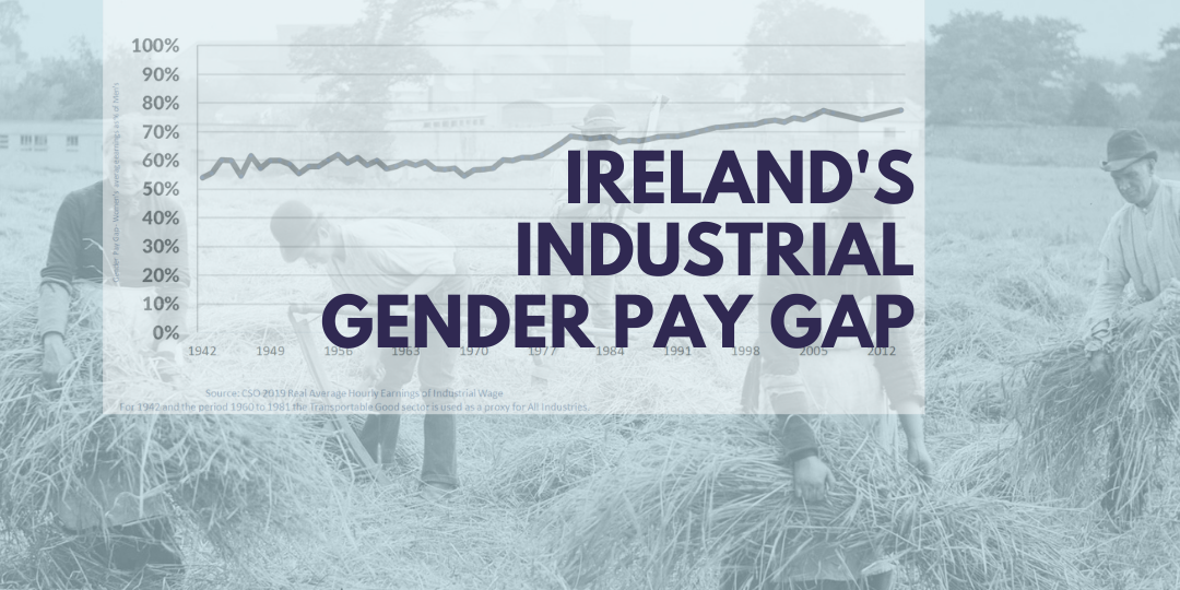 Trajectory of Ireland's Industrial Gender Pay Gap