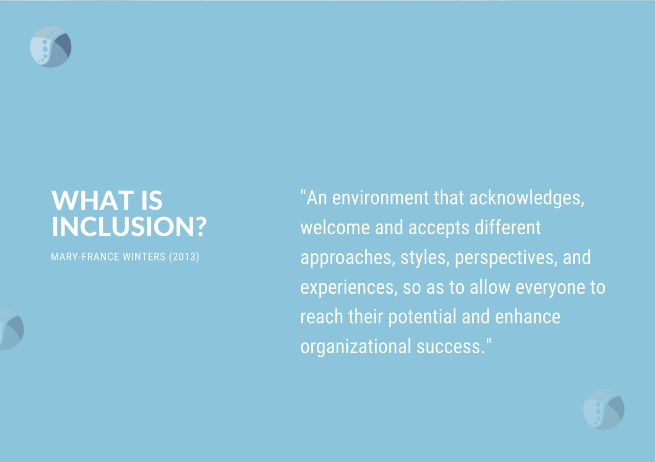 Workplace Inclusion A Definition