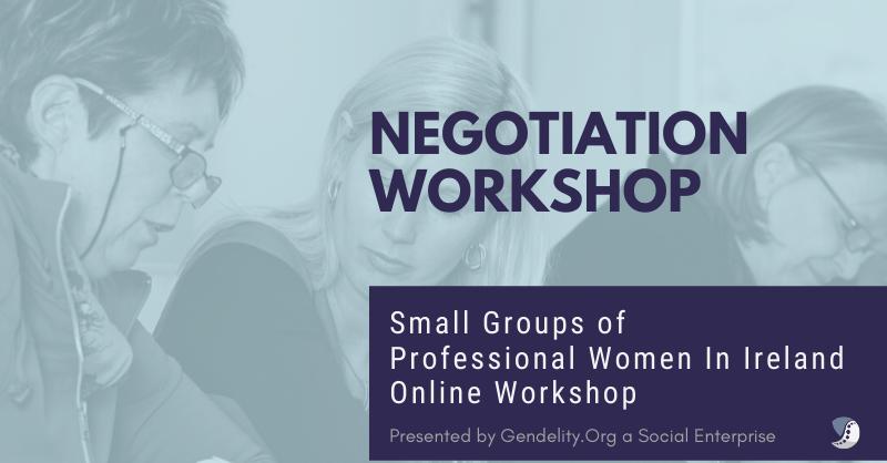 Negotiation Workshop for Professional Women